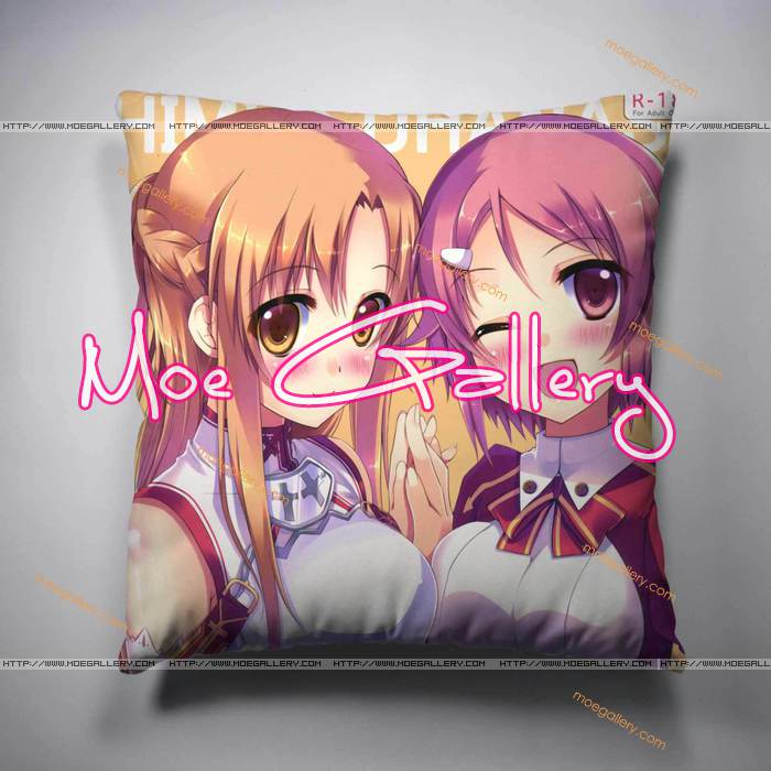 Sword Art Online Asuna Lizbeth Throw Pillow 02