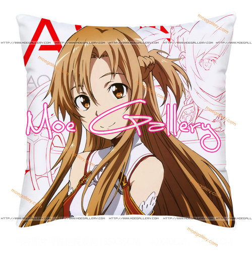 Sword Art Online Asuna Throw Pillow 32