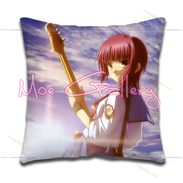 Angel Beats Iwasawa Masami Throw Pillow 01
