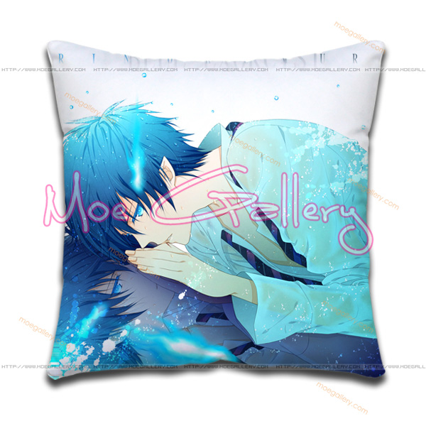 Blue Exorcist Rin Okumura Throw Pillow 01