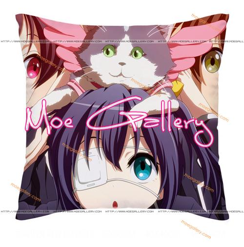 Chu-2 Rikka Takanashi Throw Pillow 34
