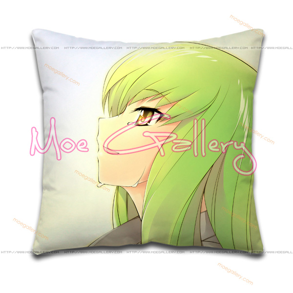 Code Geass C.C Throw Pillow 02