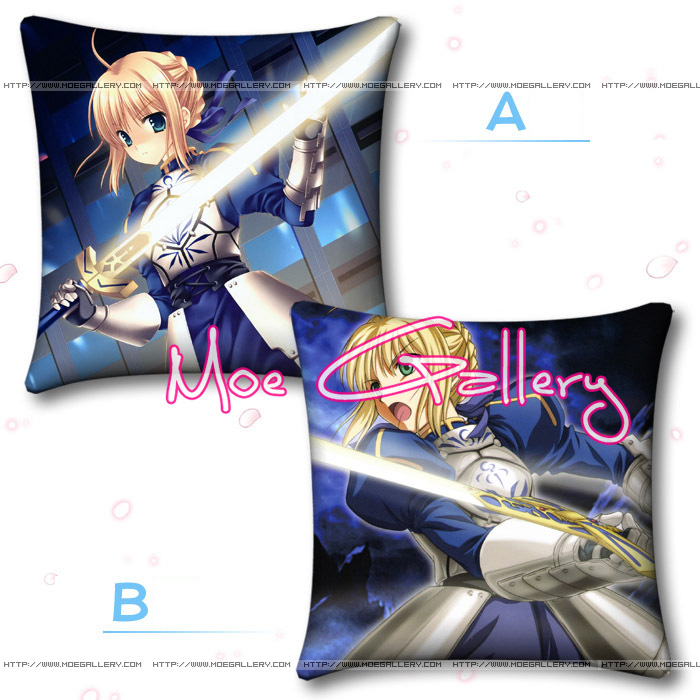 Fate Stay Night Zero Saber Throw Pillow 09