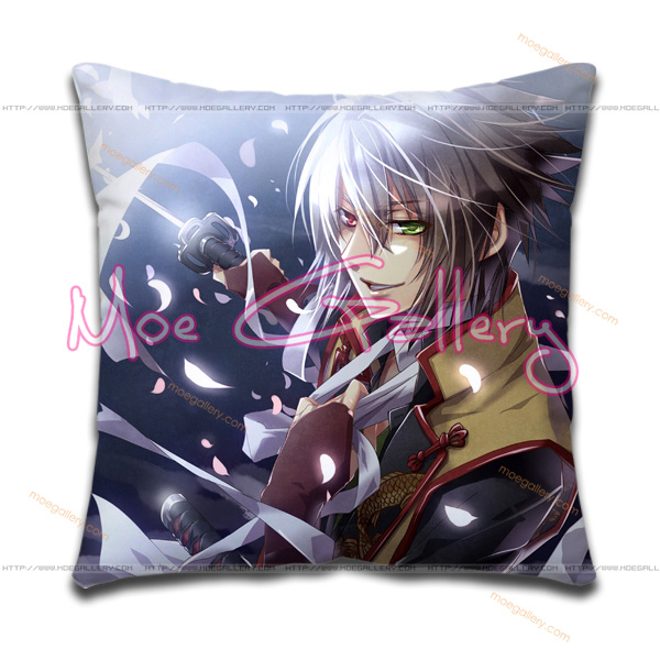 Hakuouki Soji Okita Throw Pillow 01