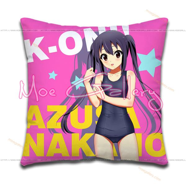 K-On Azusa Nakano Throw Pillow 09