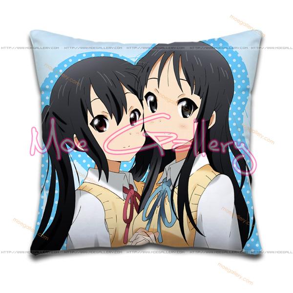 K-On Mio Akiyama Throw Pillow 04