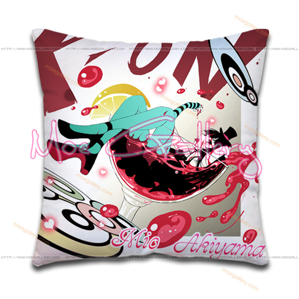 K-On Mio Akiyama Throw Pillow 13