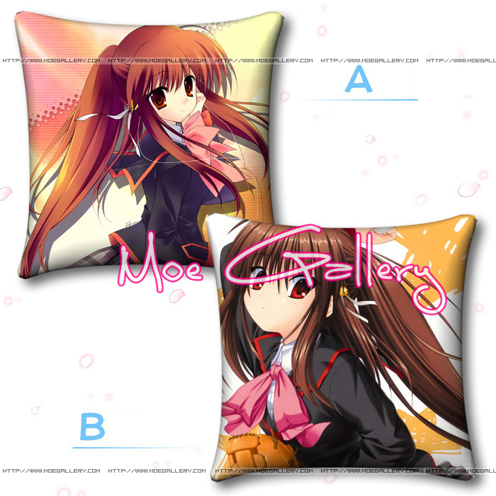 Little Busters Natsume Rin Throw Pillow 01