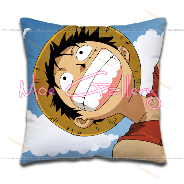 One Piece Monkey D Luffy Throw Pillow 01