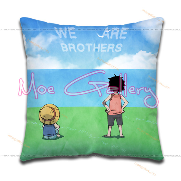 One Piece Monkey D Luffy Throw Pillow 02