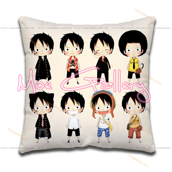 One Piece Monkey D Luffy Throw Pillow 03