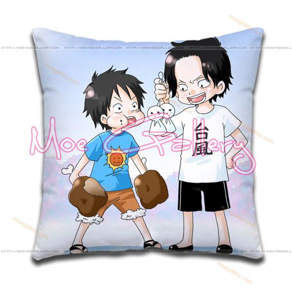 One Piece Monkey D Luffy Throw Pillow 04