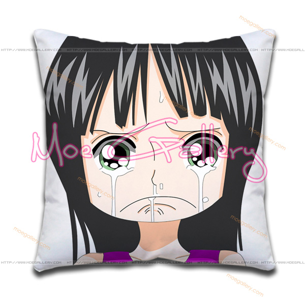 One Piece Nico Robin Throw Pillow 01