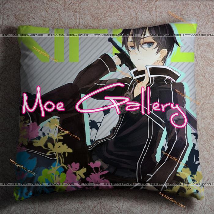 Sword Art Online Kirito Throw Pillow 06