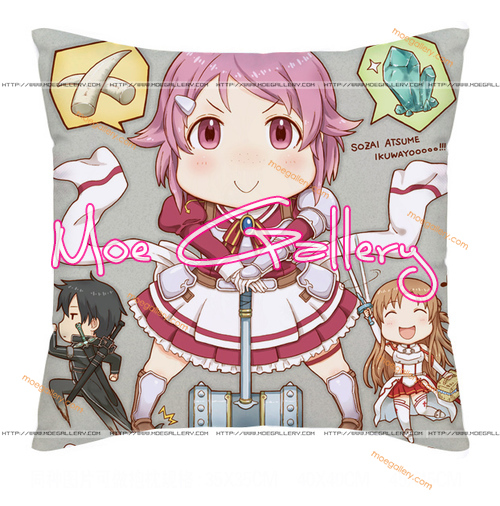 Sword Art Online Lizbeth Throw Pillow 01