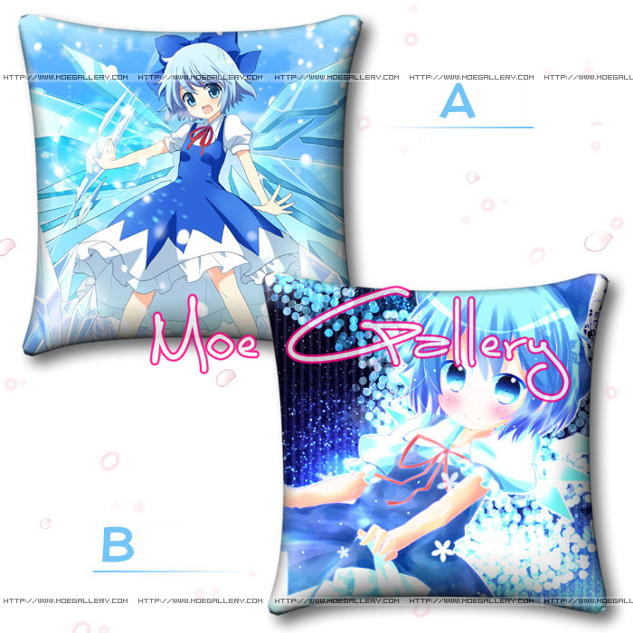 Touhou Project Cirno Throw Pillow 02