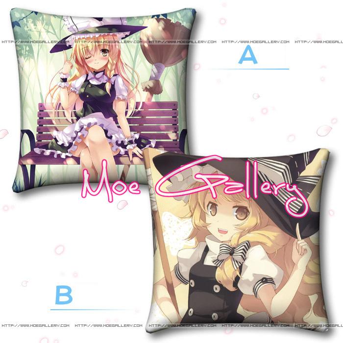 Touhou Project Marisa Kirisame Throw Pillow 01