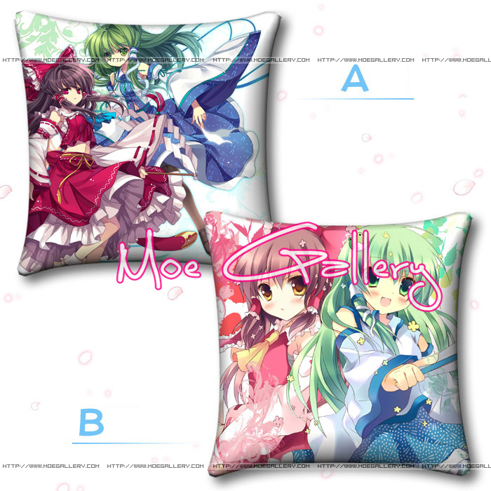 Touhou Project Reimu Hakurei Throw Pillow 04