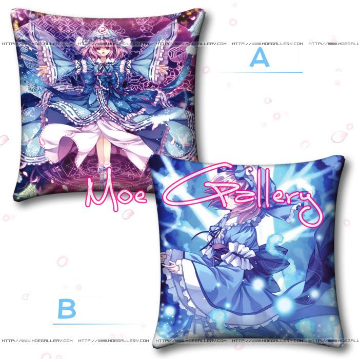 Touhou Project Yuyuko Saigyouji Throw Pillow 02