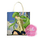 Code Geass Lelouch Of The Rebellion C C Print Tote Bag 01