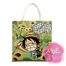 One Piece Monkey D Luffy Print Tote Bag 04