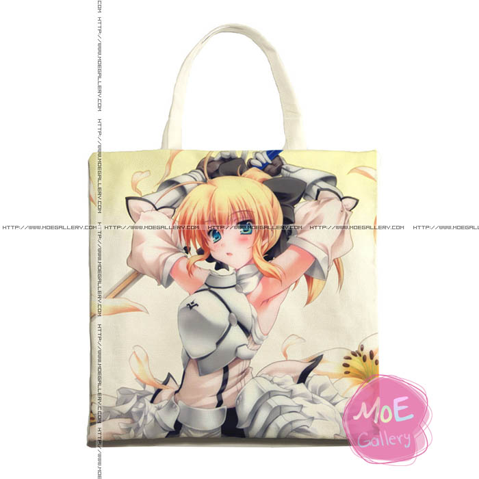 Fate Saber Print Tote Bag 01