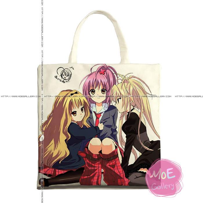 Shugo Chara Amu Hinamori Print Tote Bag 09