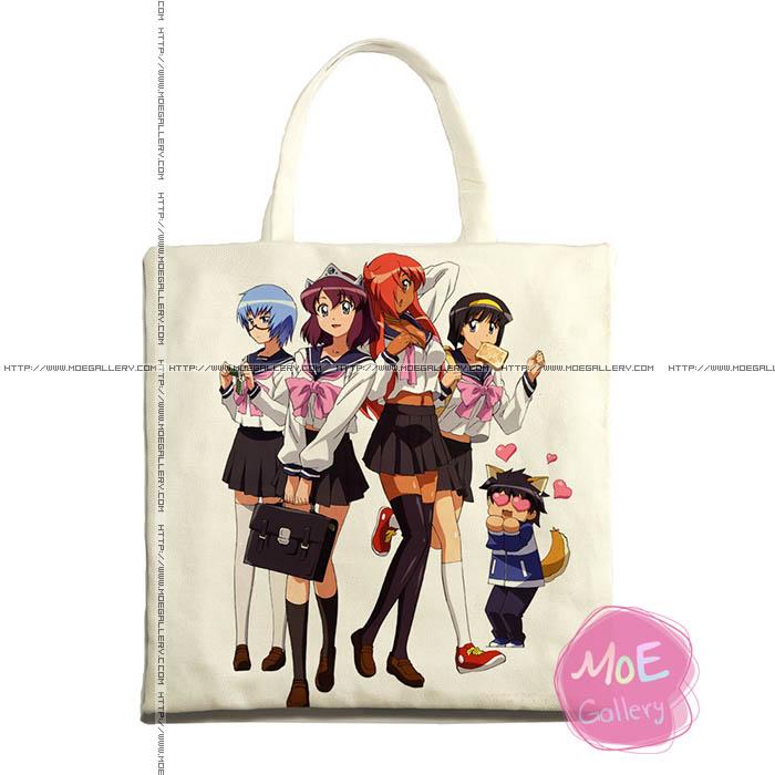 The Familiar Of Zero Kirche Print Tote Bag 01