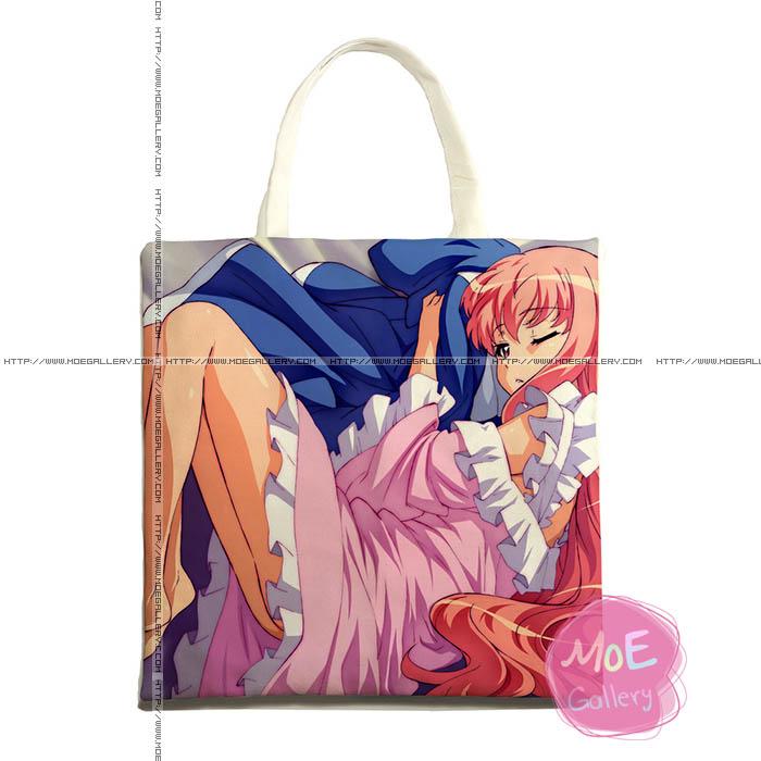The Familiar Of Zero Louise Franqoise Le Blanc de La Valliere Print Tote Bag 01