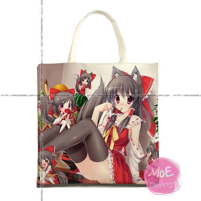Touhou Project Reimu Hakurei Print Tote Bag 03