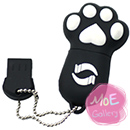Lovely Cat Black 8G USB Flash Drive 01