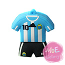 Soccer Argentina Football Shirt Sports Jersey 2G USB Flash Drive 01