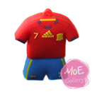 Soccer Spain Football Shirt Sports Jersey 32G USB Flash Drive 01