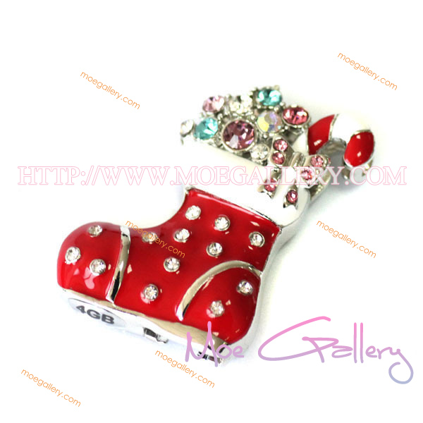 Christmas Shoes 16G USB Flash Drive 01