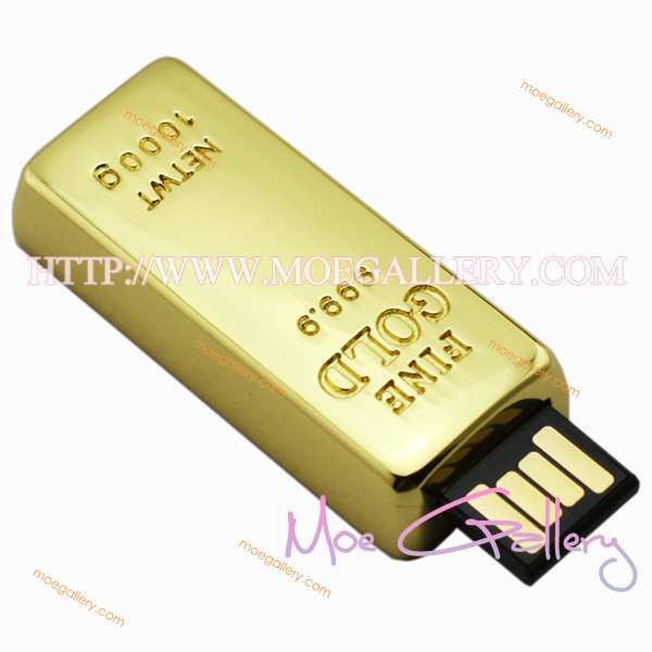 Fine Gold 4G USB Flash Drive 01