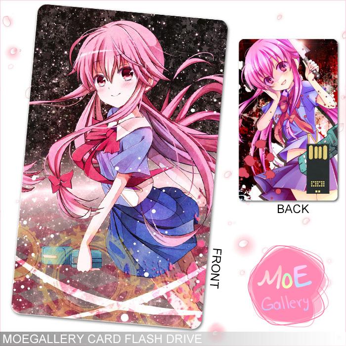 Future Diary Gasai Yuno  USB Flash Drive 01
