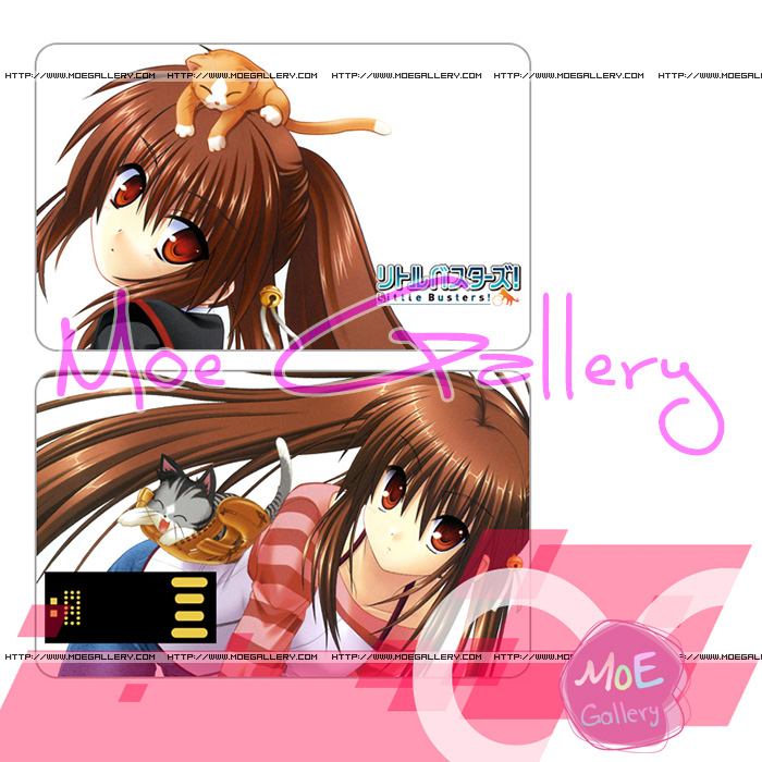 Little Busters Rin Natsume USB Flash Drive 01