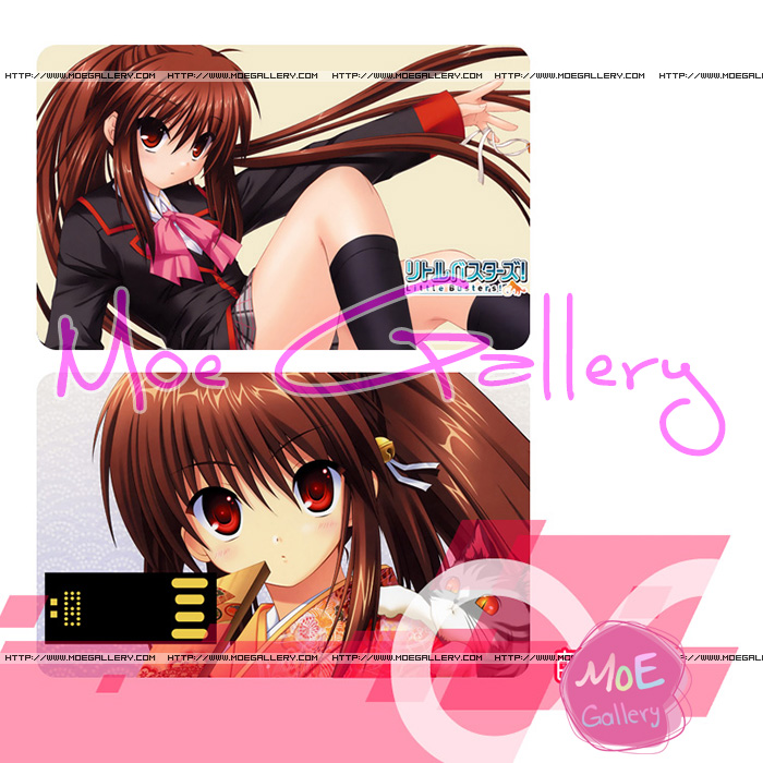 Little Busters Rin Natsume USB Flash Drive 02