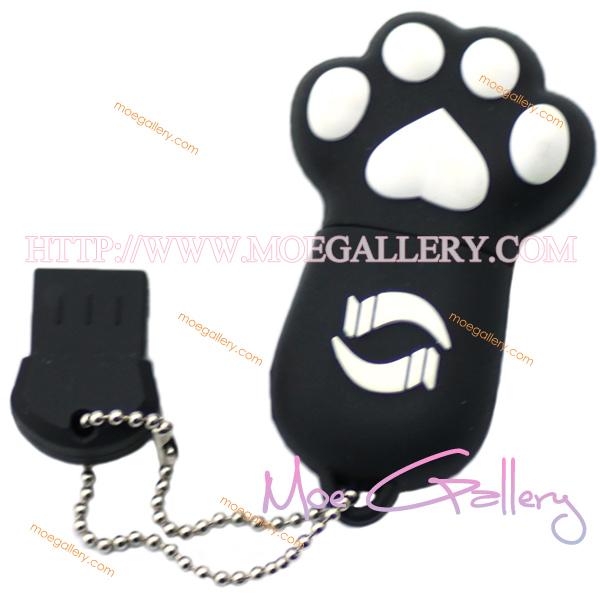 Lovely Cat Black 8G USB Flash Drive 01
