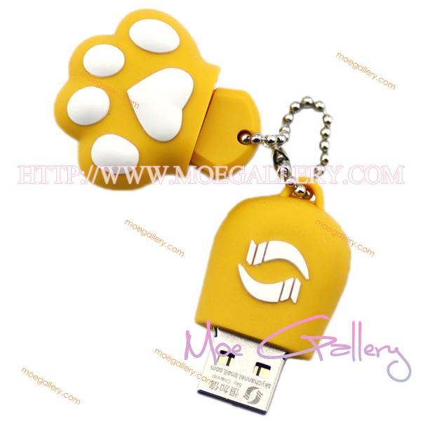 Lovely Cat Yellow 8G USB Flash Drive 01
