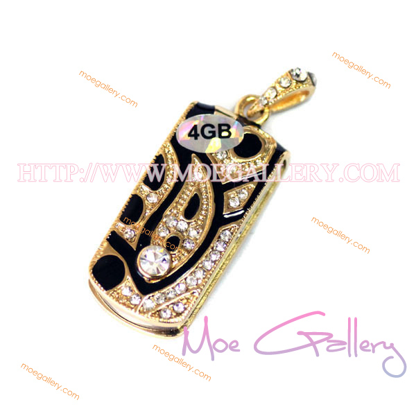 Necklace 4G USB Flash Drive 01