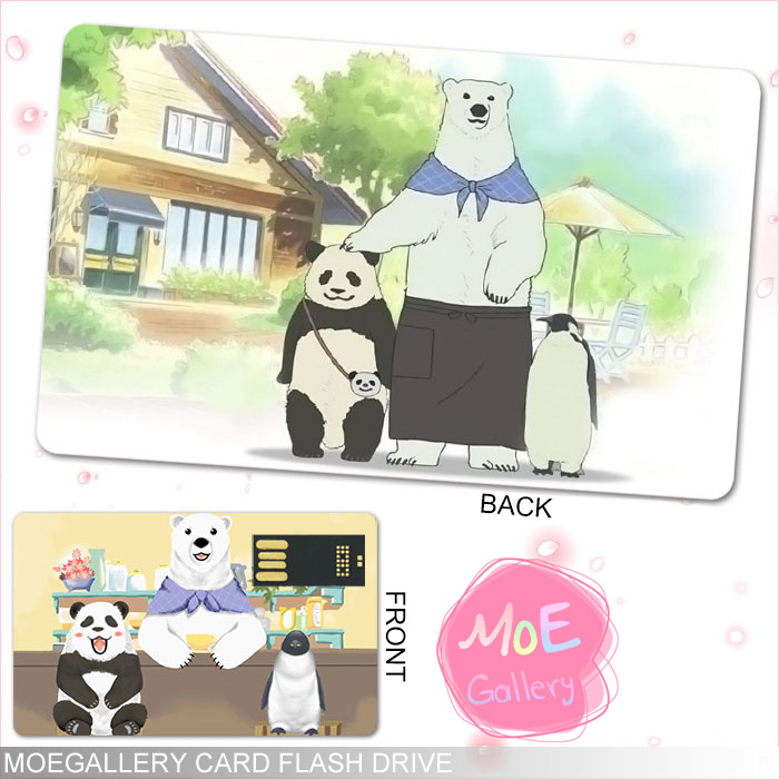 Polar Bear's Cafe Penguin Panda USB Flash Drive 01