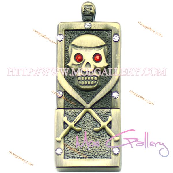 Skull 8G USB Flash Drive 01