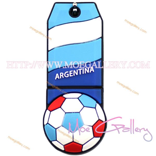 Soccer Argentina Football 16G USB Flash Drive 01