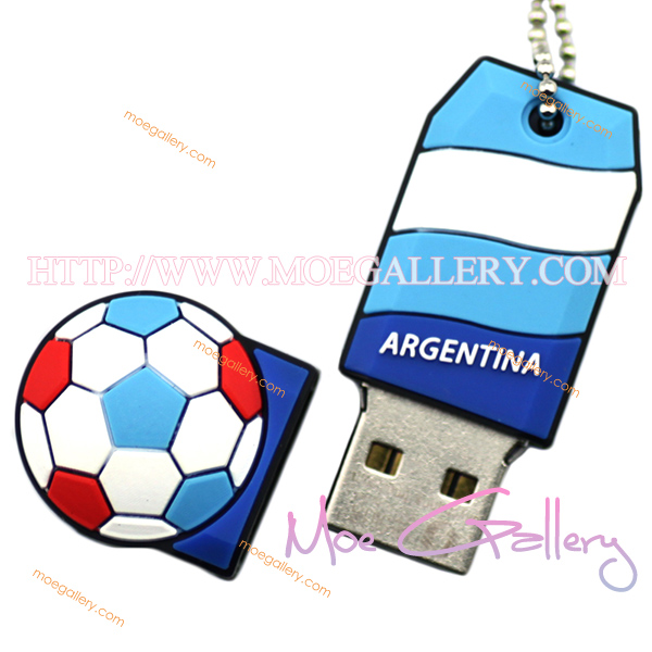 Soccer Argentina Football 4G USB Flash Drive 01