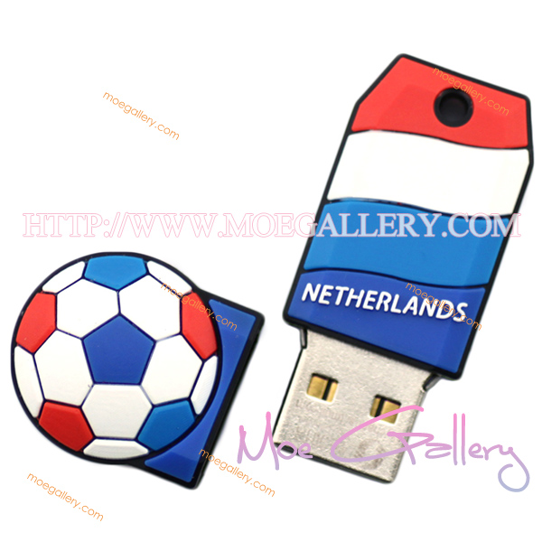 Soccer Netherlands Football 4G USB Flash Drive 01