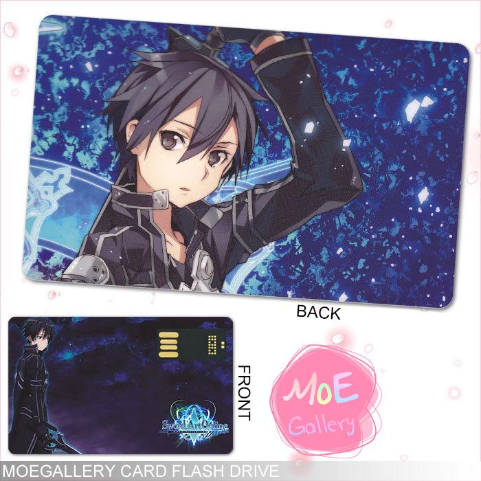Sword Art Online Kirito Kazuto Kirigaya USB Flash Drive 01