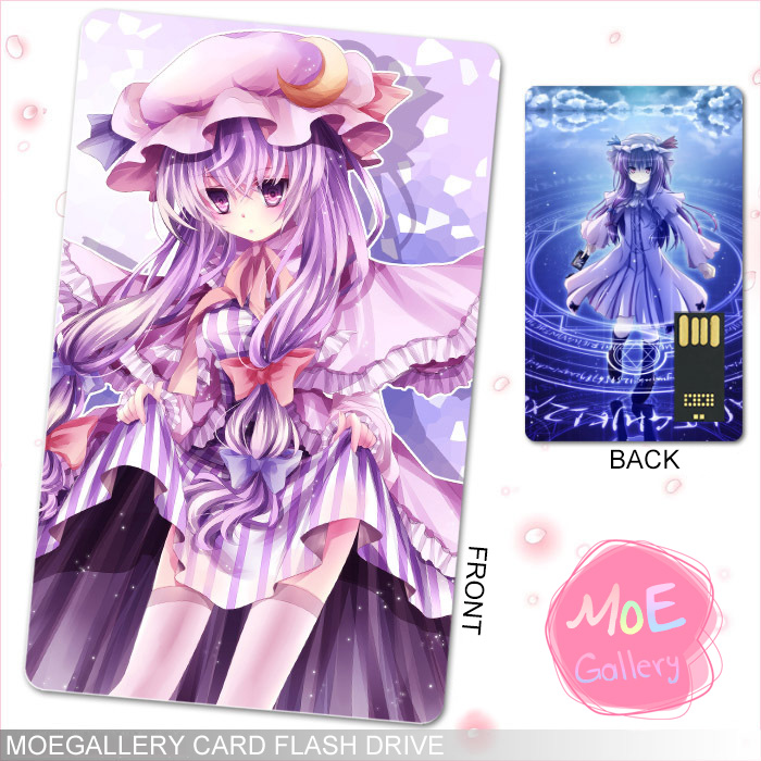 Touhou Project Patchouli Knowledge USB Flash Drive 01