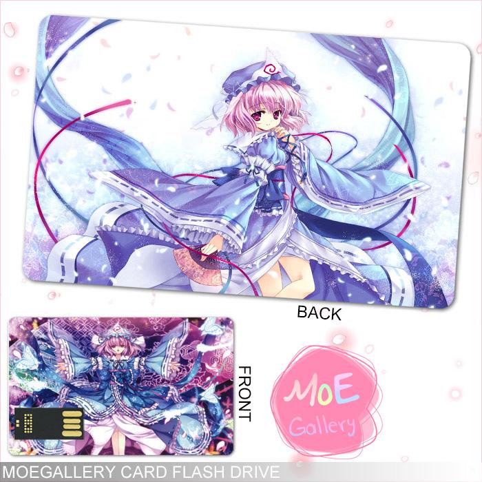 Touhou Project Yuyuko Saigyouji USB Flash Drive 01
