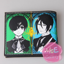 Black Butler Ciel Phantomhive Black Wallet 01